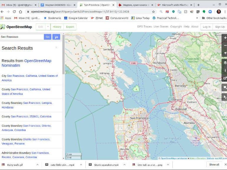 Esri, Facebook release new OpenStreetMap datasets | ZDNet