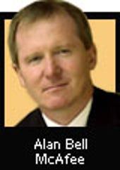 Alan Bell, McAfee