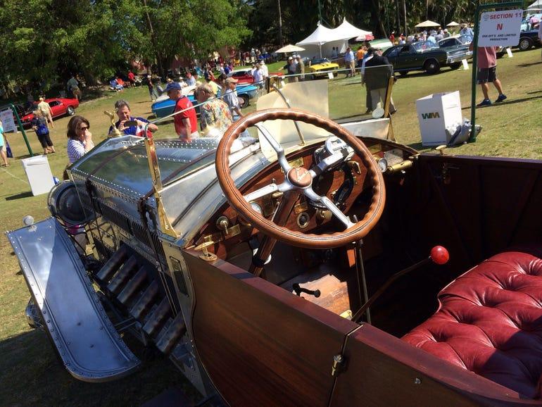 1928 Rolls-Royce Torpedo Cockpit