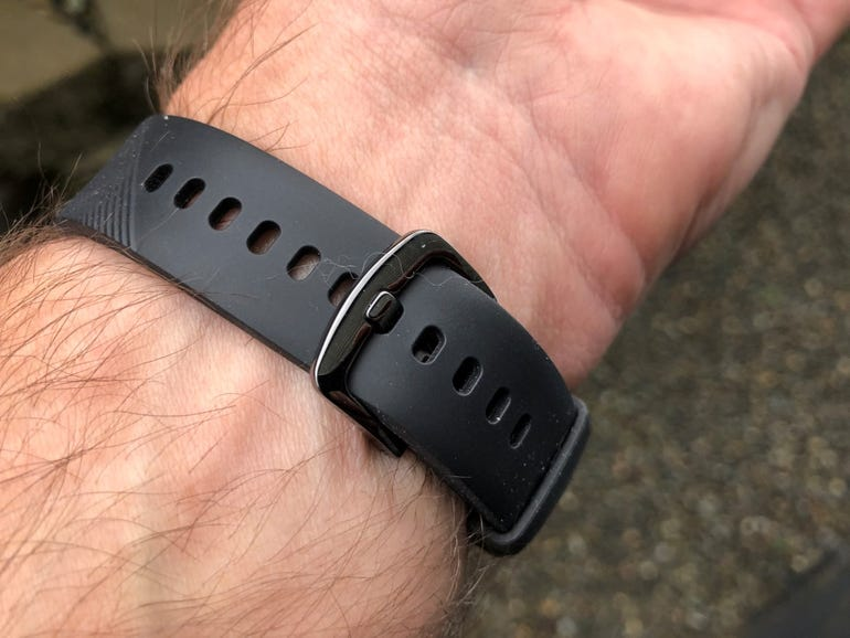 Comfortable band and clasp