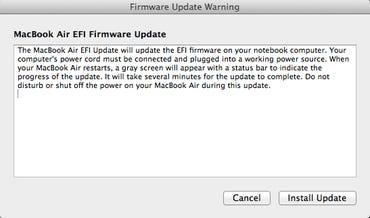 MacBook Air EFI Firmware Update 2.2 screenshot - Jason O'Grady