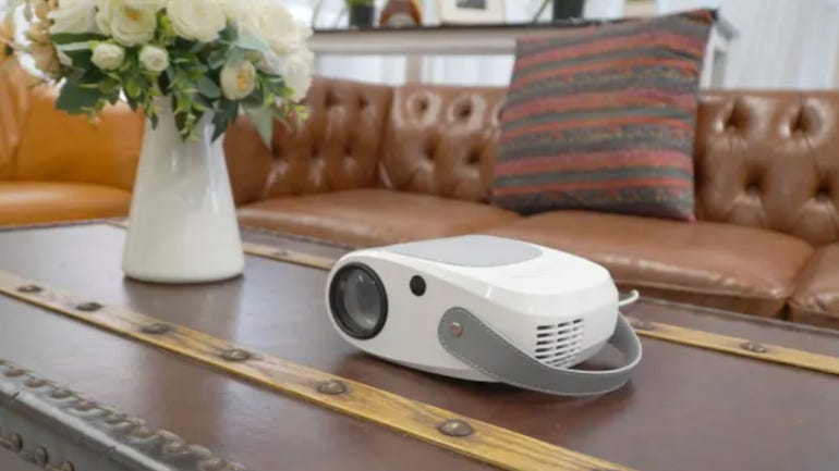 Vankyo Leisure 520W projector review: purse sized ultra-portable projector for home and office zdnet