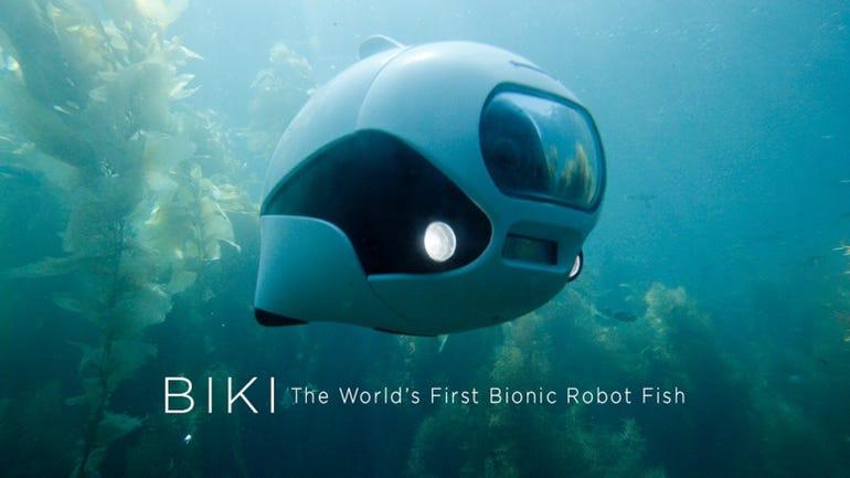 BIKI: First Bionic Wireless Underwater Fish Drone