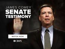 James Comey testifies to Congress