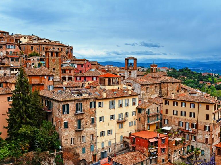 Perugia, the capital of Umbria
