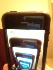 iPhone Mirror images by Joe McKendrick