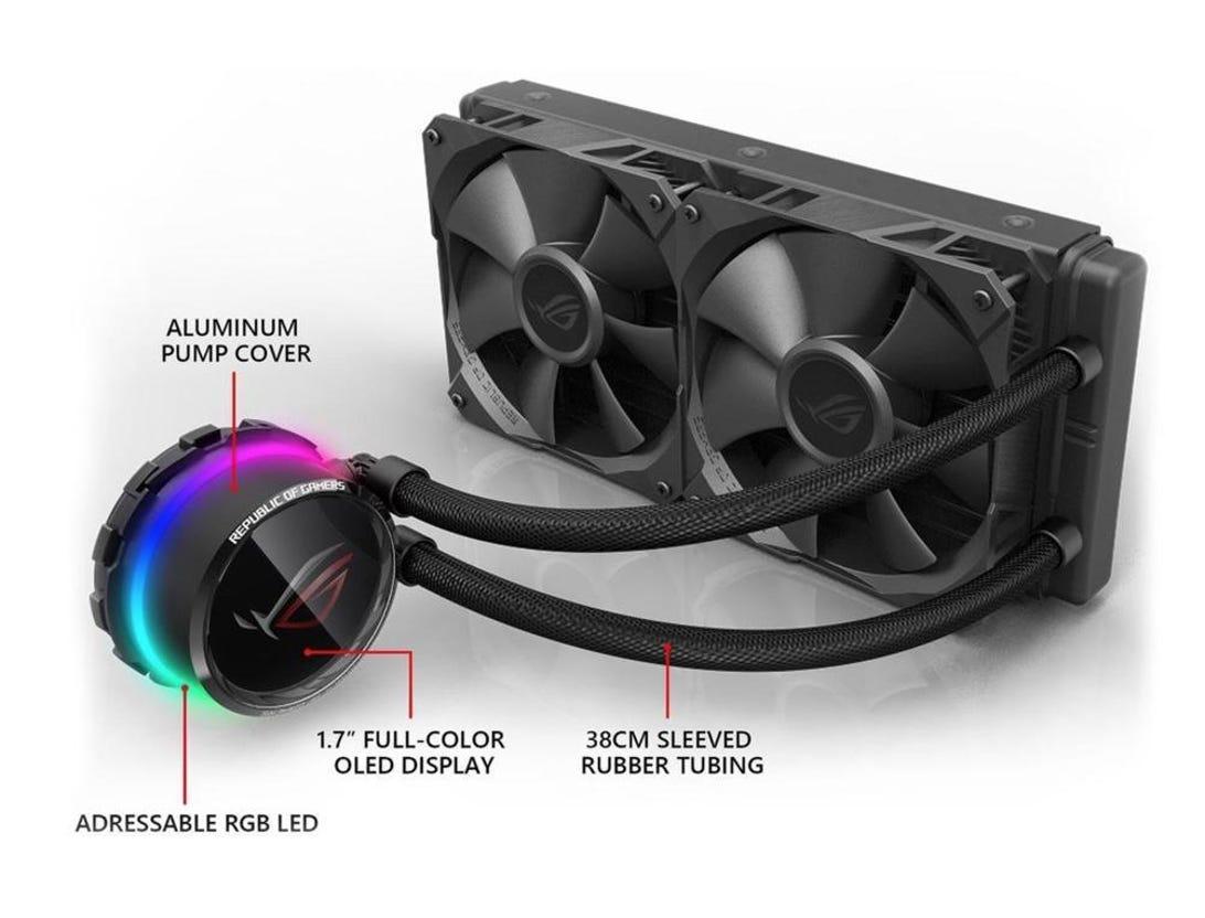 ASUS ROG Ryuo 240 RGB AIO Liquid CPU Cooler