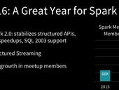 Spark gets faster for streaming analytics