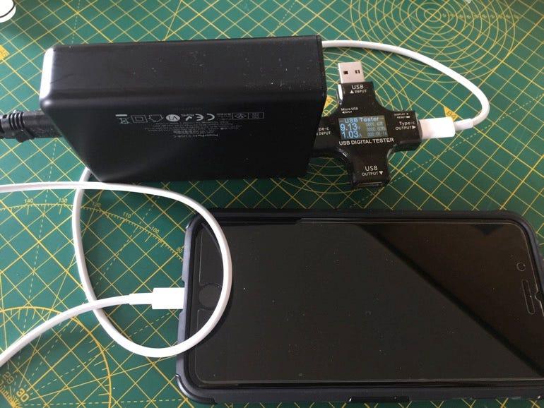 USB-C fast charging
