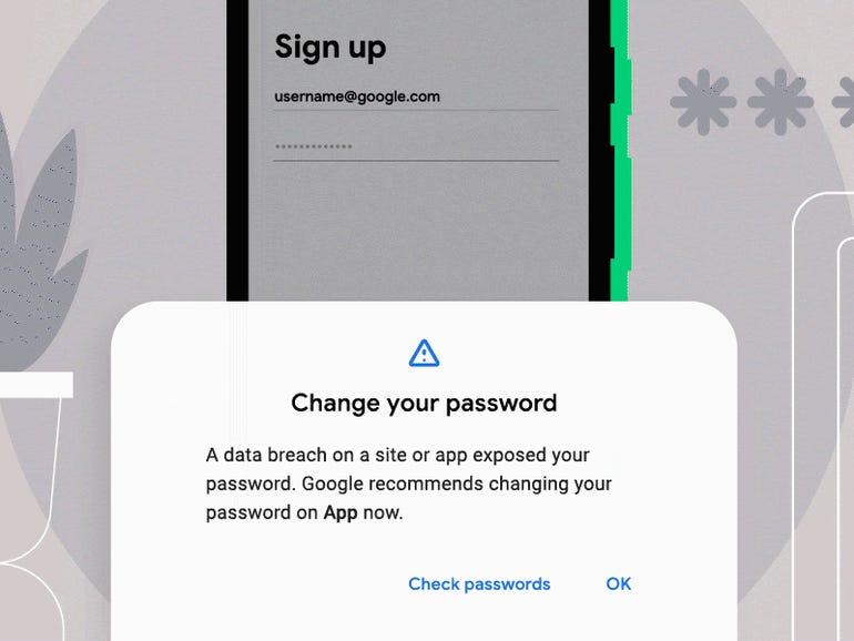 Google's Password Checkup feature coming to Android | ZDNet