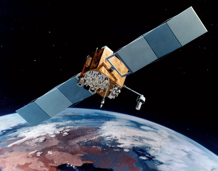 1989: Launch of first GPS satellite