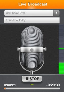 Spreaker brings mobile podcasting to iOS and the iPhone - Jason O'Grady