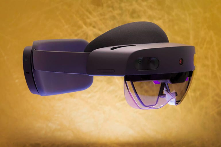 Microsoft HoloLens 2 headset