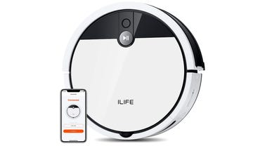 ILife V9e robot vacuum review super strong suction with Cyclone dustbin zdnet