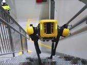 Spot, the robot dog, tests its skills in an offshore oil rig