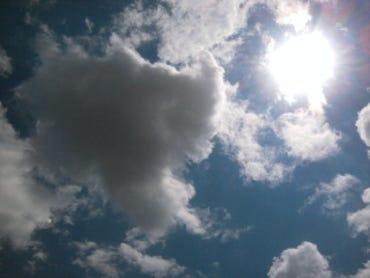 Clouds and Sun-photo by Joe McKendrick