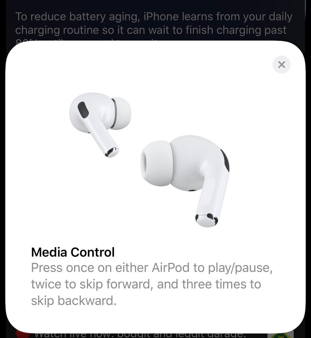 AirPods Pro integration into iOS
