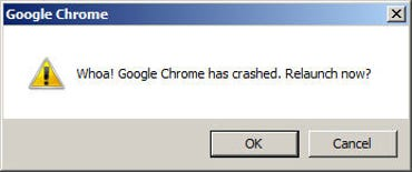 My daily greeting from Chrome.