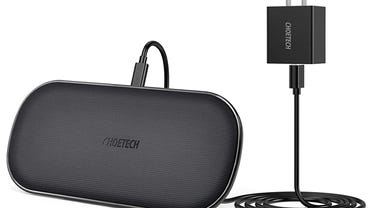 CHOETECH 5-Coil Dual Wireless Charger
