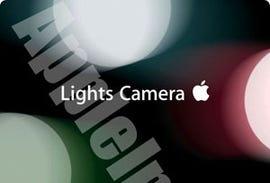 Lights, Camera, Apple
