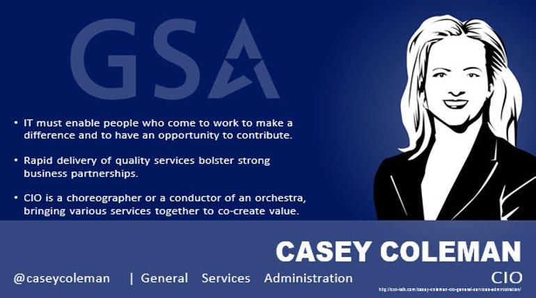Casey Coleman, CIO, US General Services Administration