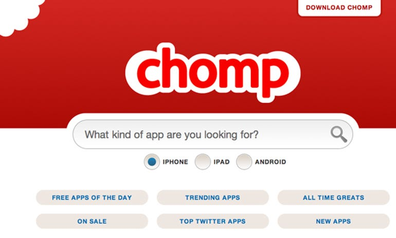 Apple takes a bite out of Chomp