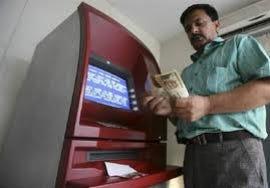 ATM man cash