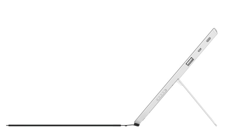 Surface 2 side view