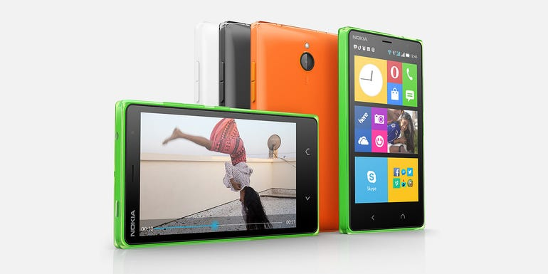 Nokia X (Feb 2014, discontinued announcement in July 2014)