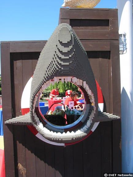 Poland through mouth of shark
