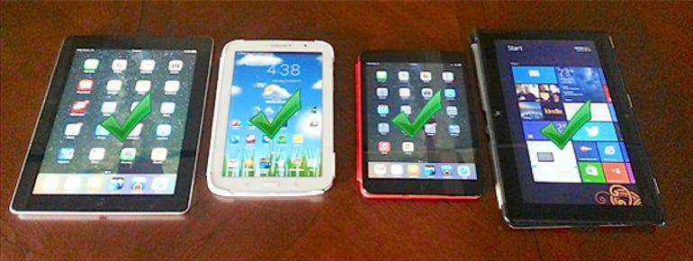Tablets equal