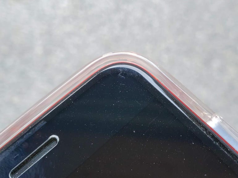 Raised edges also help protect the display