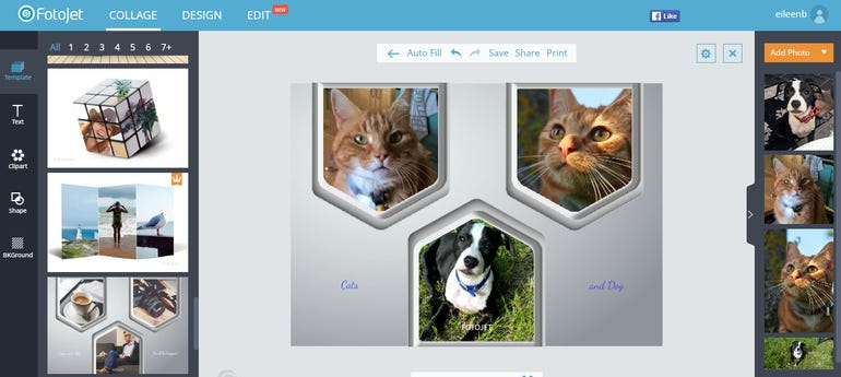 Fotojet free online collage maker will enhance your social interactions ZDNet