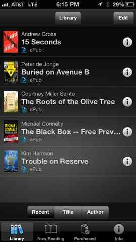 Sony brings Reader software and bookstore to iOS platform
