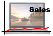 Artist's impression of what Chromebook sales might look like.