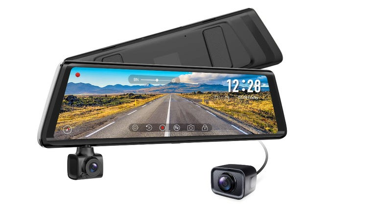 Hands on with Auto Vox A1 dash cam rotating camera for in-car recording zdnet