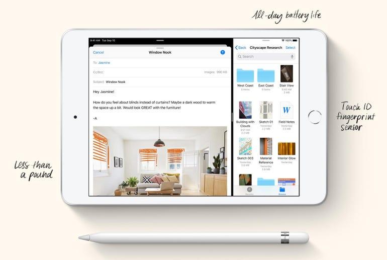 The fifth-generation iPad mini