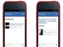 Facebook SDK for Android updated more sharing, Open Graph tools