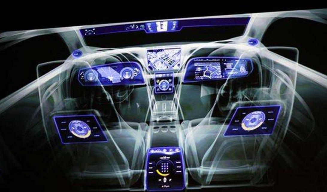 nvidia connected car tegra