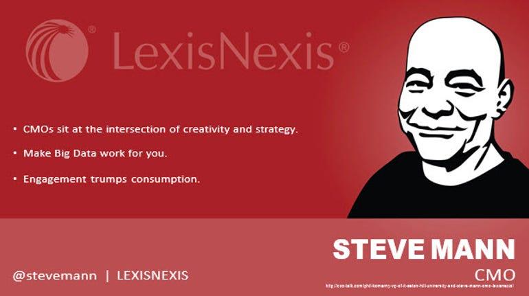 Steve Mann, Chief Marketing Officer, LexisNexis