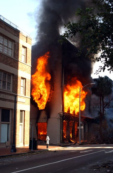 New Orleans fire