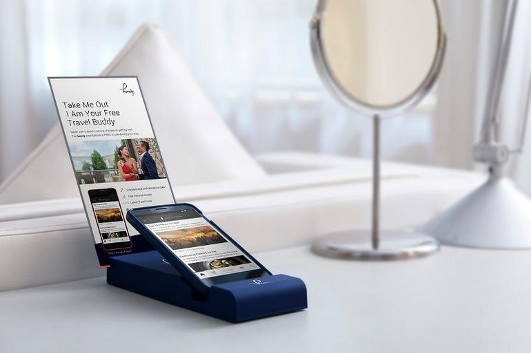 Handy hotel phone