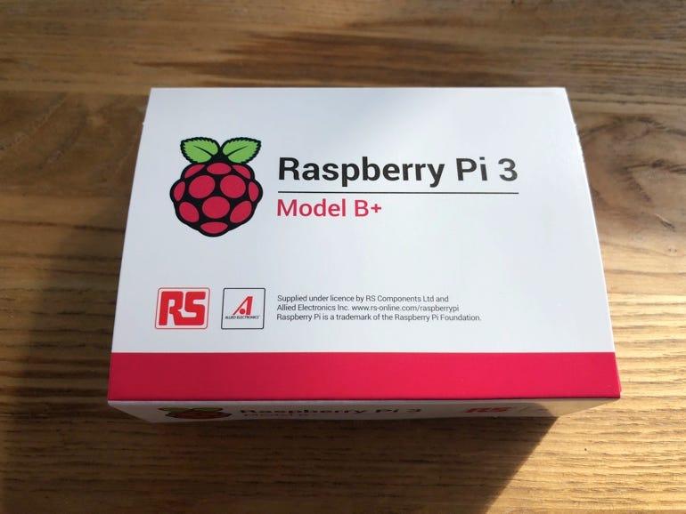 Brand new Raspberry Pi 3 Model B+