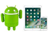 The state of mobile device security: Android vs. iOS