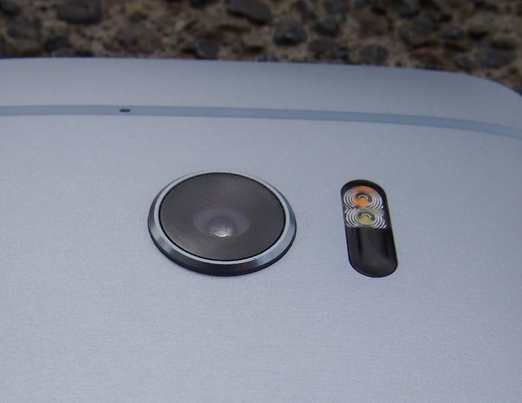 Rear camera and flash