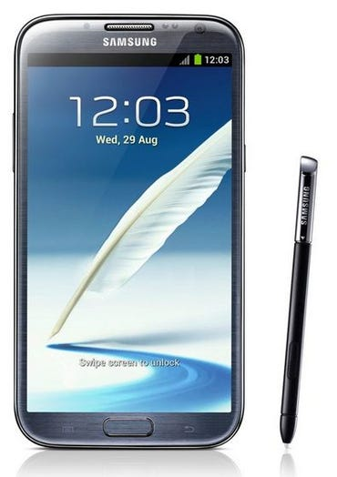 Samsung adds major functionality to S Pen in Galaxy Note II