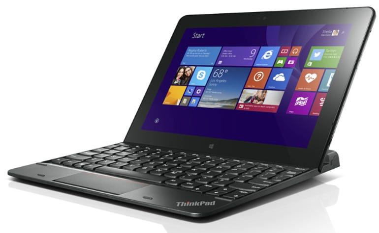 ThinkPad 10 Ultrabook keyboard