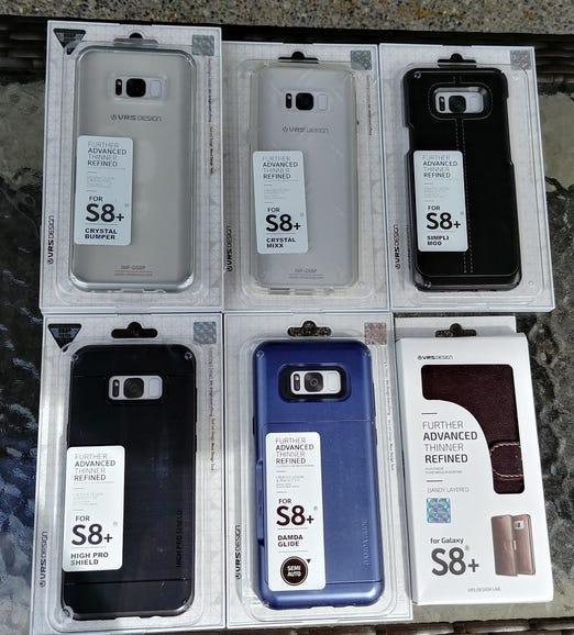 Six VRS Design Galaxy S8 Plus options