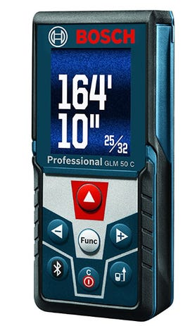 Cool Tool Hands On With The Bosch Glm 50 An App Enabled Laser Measuring Tool Zdnet