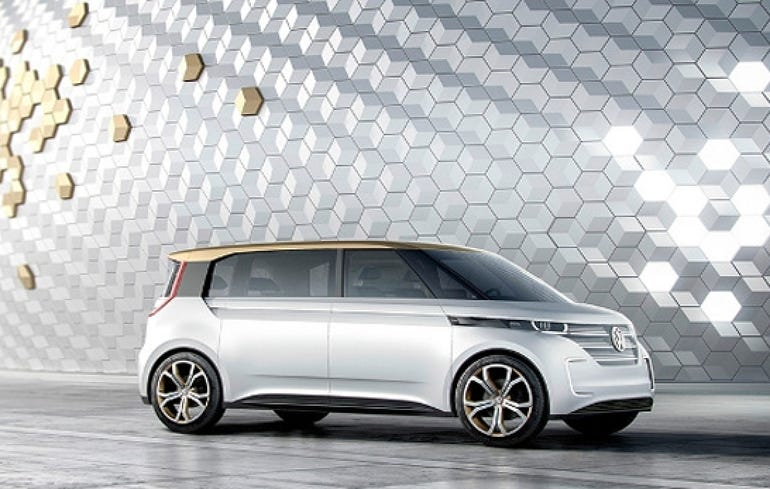 Volkswagen's BUDD-e concept